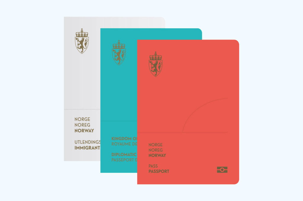 Norwegian Passport Cover