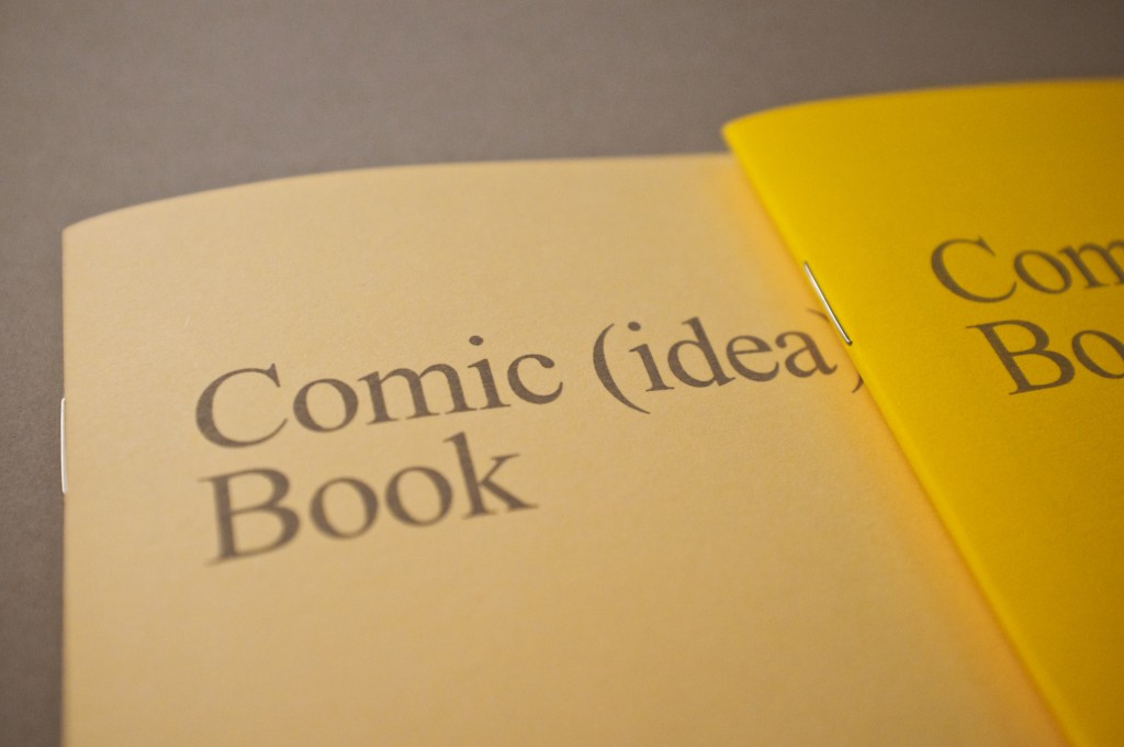 Comic (Idea) Book